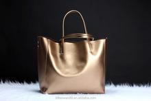 Fashion shopping lady bag cow leather shoulder bag 2015