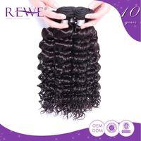 Custom Tag No Shedding Human Bohemian Brazilian Tight Curl Remy Hair Weave