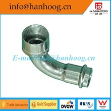 female angle adaptor elbow (long type ) for tube DN 50 x RP1 1/2