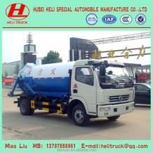 5000L vácuo caminhão de sucção de esgoto Vacuum Truck China fabricante