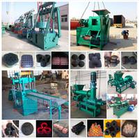 High efficiency charcoal powder briquette making machine/charcoal briquette press