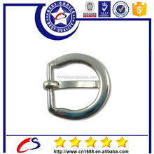 Zinc alloy metal plated D ring ,metal buckle D ring for bag