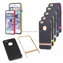 Wholesale 5.5 inch case rock phone case new design cover back for iphone 6 plus