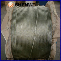steel rope surface grease, galvanized cable railing