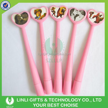 Cheap Price Lovely Designed Advertising Soft Rubber Ballpoint Pen,Soft Rubber Pen