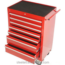 Professional steel mobile tool box with drawers