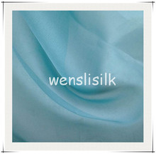 2015 pure silk organza wedding dress fabric