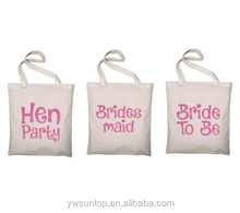 Hen Party Large Tote Bags Shopping Tote Bag Custom Canvas Tote Bag