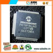 PIC18F86J60-I PT 8 -MCU 64KB FL 12KB RAM 10BASE-T New& Original