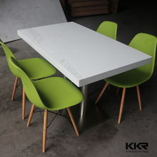 KKR marble stone table dining tables and chairs big size