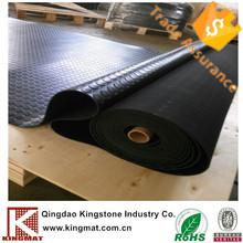 3mm anti slip bonsun checker rubber mat garage rubber mat The airport corridors mat