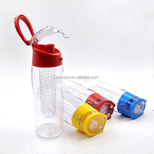 hot new products for 2015 BPA free Plastic Fruit Juice Infuser Water Bottle