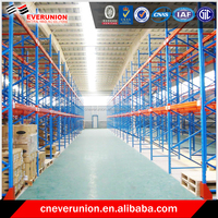 Steel Q235B box beam racking and shelving
