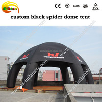 2014 best seller oxford cloth giant inflatable dome tent