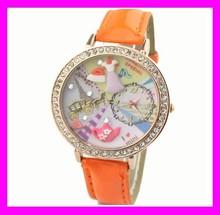 eccellente elegante popolare designer coreano polimero mini hd2198 orologi di marca per le ragazze