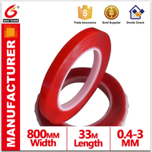 lasting in low temperature Odorless Grey/Clear/white VHB Acrylic Tape jumbo rolls