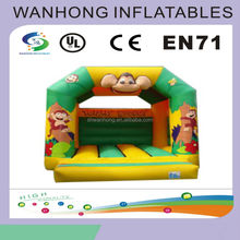 Inflatable bouncy castle , outdoor inflatable bouncer with pool,children's park