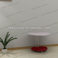 Heart shape MDF Tea Table design