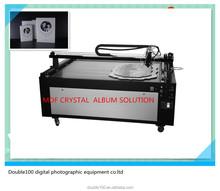 auto crystal MDF photo album cover /frame making machine