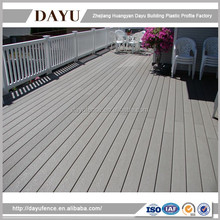 Cheap White Plastic Outdoor Balcony Railings Fence Made In China