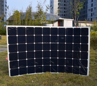 180W Wholesale flexible solar panel with monocrystalline cells for top quality