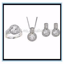 Cristalino de la joyería, la joyería del rhinestone, la joyería de la aleación 18 K XP-JS-0164