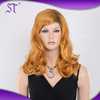 Wholesale price fantasy curly synthetic wig for female
