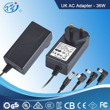 alibaba china 18v 2a ac / dc adapter power supply with ce cul bs saa ccc pse kc