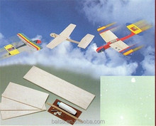 assembly balsa plane