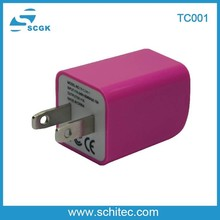 OEM travel charger adaptive fast charging for iphone/Samsung/ipad/camera