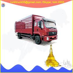 BJ1163VKPFK-B4 Foton forland left hand drive 6 tyres 12ton diesel van for sale in dubai