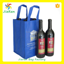 2015 new style 6 bottle non-woven wine tote bag