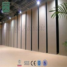 mdf wood acoustic panel aluminium movable partition wall