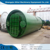 10 tons per day used tyre batch pyrolysis plant with CE ISO
