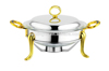 high quality product for the household kitchen cook utensil glass chafing dish