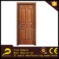 best wood bathroom door panel design