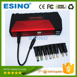 18000mAh car jump starter with 2 usb laptop charging automotive jump starter power bank