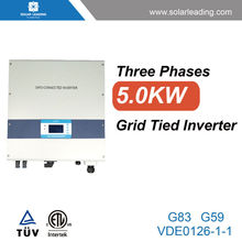 Small size 5000w factory directly inverter 220v to 380v connect to twin cable for residential solar energy systems