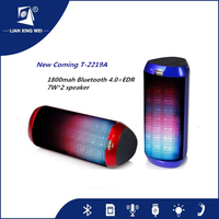 new products 4.0 bluetooth speaker with led from China factory