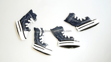 Lanle Jean fabric pet board shoes with shoelace,pet shoes supplied in China for wholesale