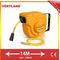 14M auto roll-up air hose reel drum for car repairing shops