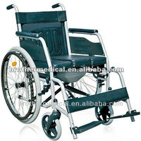 wheelchair with toilet BME4624