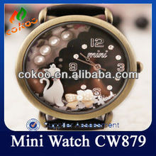 Lady Watch Aristocrat Cat Lovely White Cat CW879