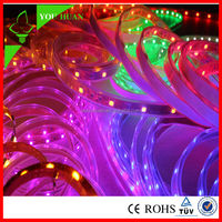 China waterproof 5m/Roll 18-20lm 12 volt rgb led strip connectable led strip light 5050