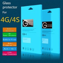 Prevent scratches for i Phone 0.33mm 2.5D tempered glass screen protector