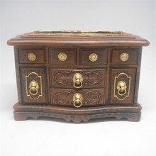 top grade wooden-like painting jewelry box manufactures in Ningbo.