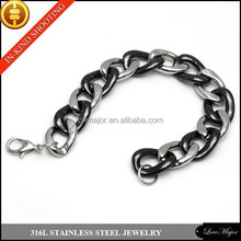 yiwu MAJOR MJMB-046 custom bracelet fashion jewellery pottery and porcelain bracelet of stainless steel