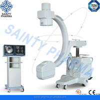 Automatic Medical Advanced Trolley Mobile C-arm fluoroscope x-ray machine