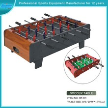 mini indoor MDF soccer game table foosball table for kids