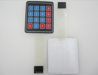 New 4 x 4 Matrix Keypad Membrane Switch 8 pins connector SCM Outside enlarge Keypad For Arduino